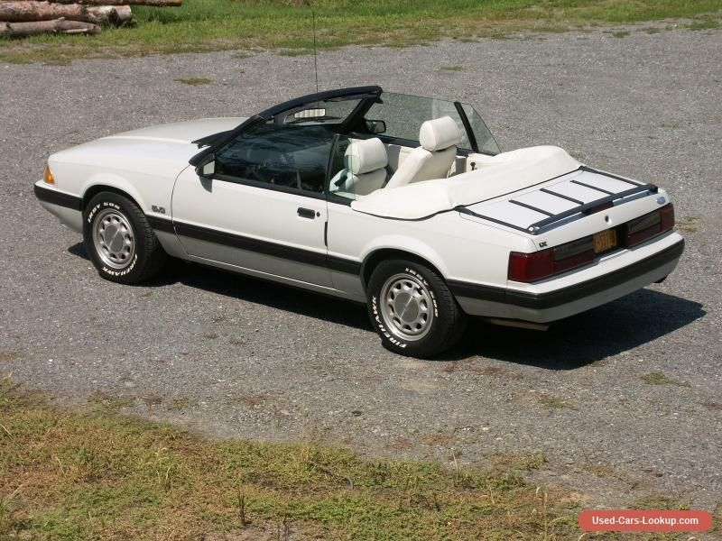 1987 Ford Mustang LX #ford #mustang #forsale #unitedstates | Cars ...