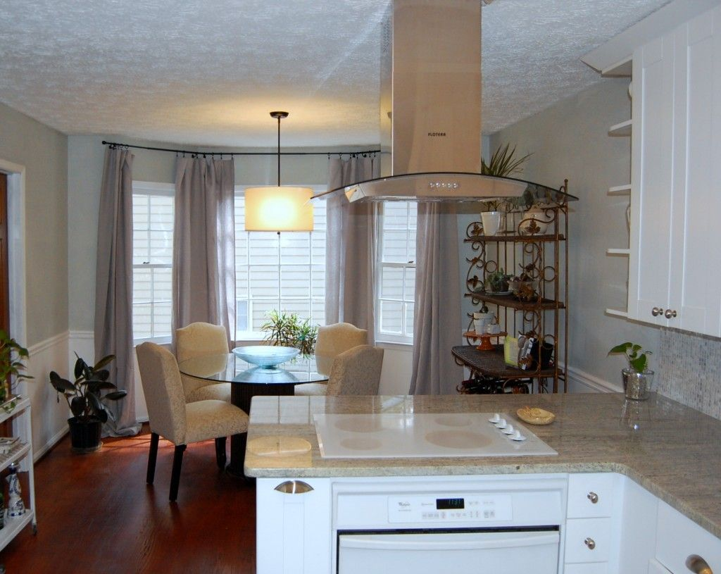 Dream Kitchens With Islands Peninsula With Island Range Hood  For The Home  Pinterest