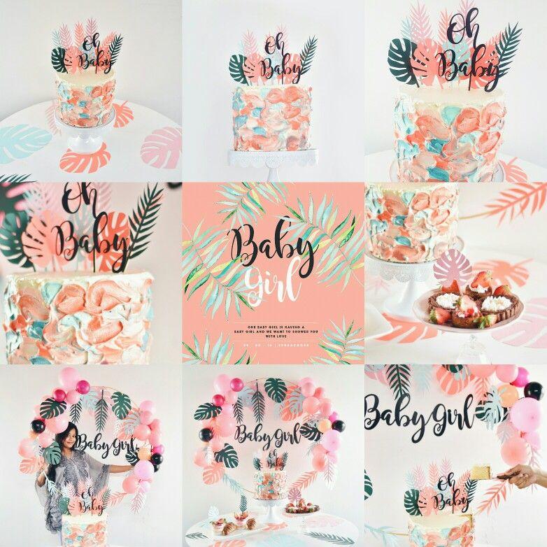 #pastel #babyshower #babyshowerideas #birthdaydecor #birthdaycake #babyshowercake #cake #simpledesserttable #desserttable