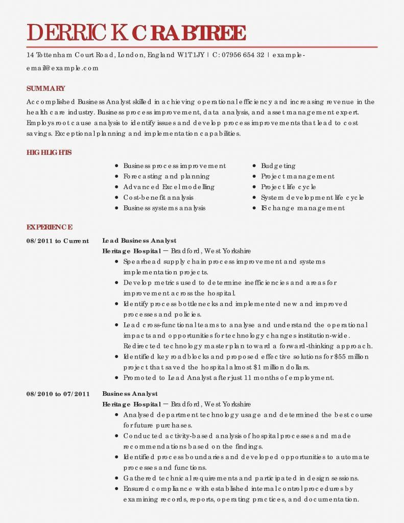 Agile Business Analyst Resume Beautiful Business Systems