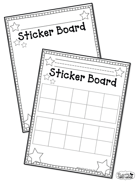 Stick to Good Behavior: Sticker Board Classroom Management