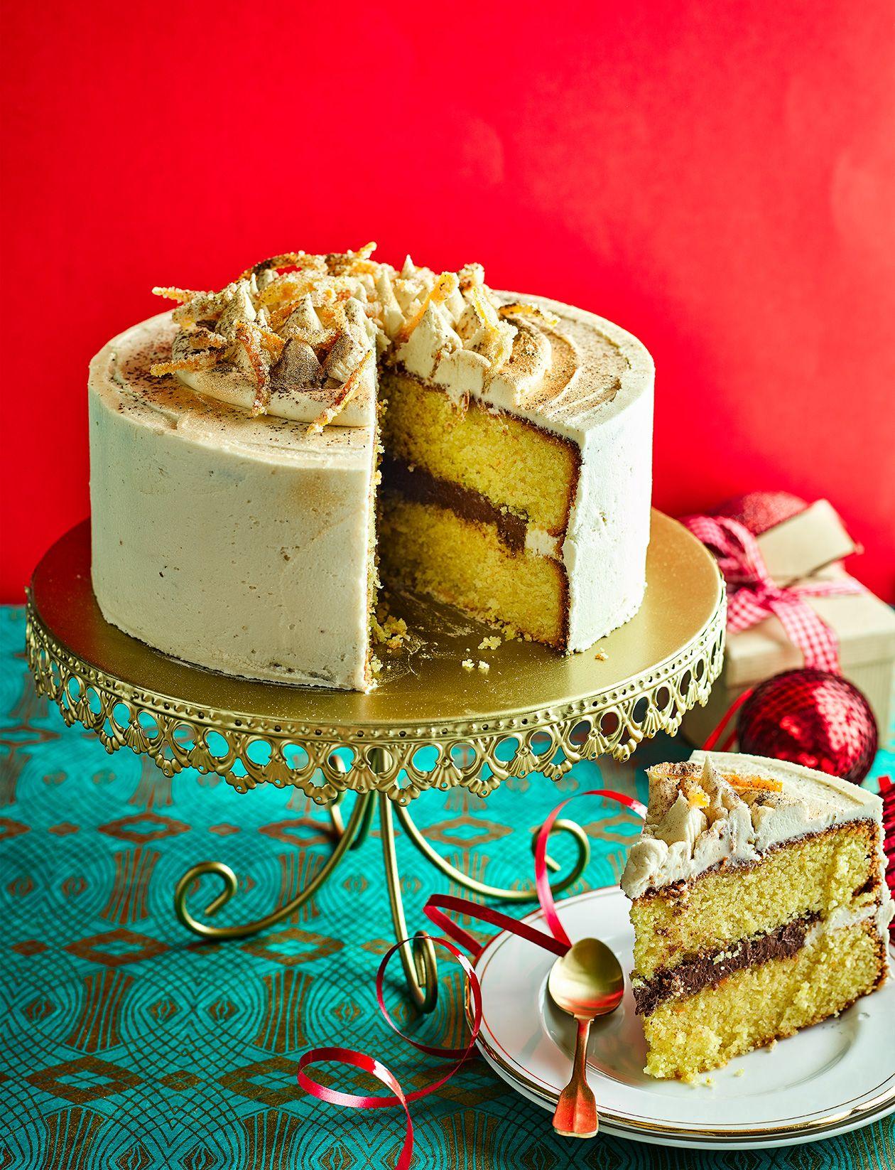 Chocolate and orange glutenfree polenta cake recipe