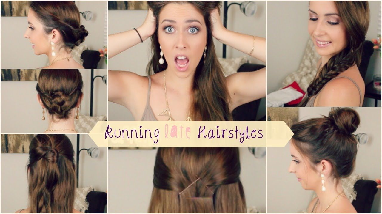 Very quick and easy heatless hairstyles perfect for when youure in