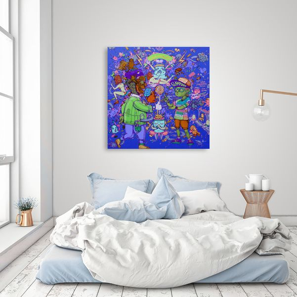 Discover «Battle of generation», Exclusive Edition Canvas Print by yahya Rifandaru - From $65 - Curioos