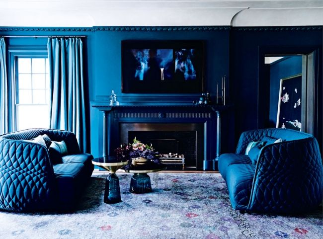 A Melbourne Home With The Winter Blues Interior Design Awards