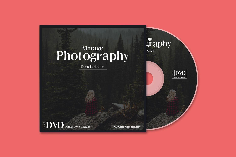 35+ CD DVD Mockup PSD to Show CD Cover & Label Designs | Mockups ...