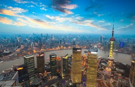 Download Shanghai At Sunset 4k Wallpaper For Free Come And