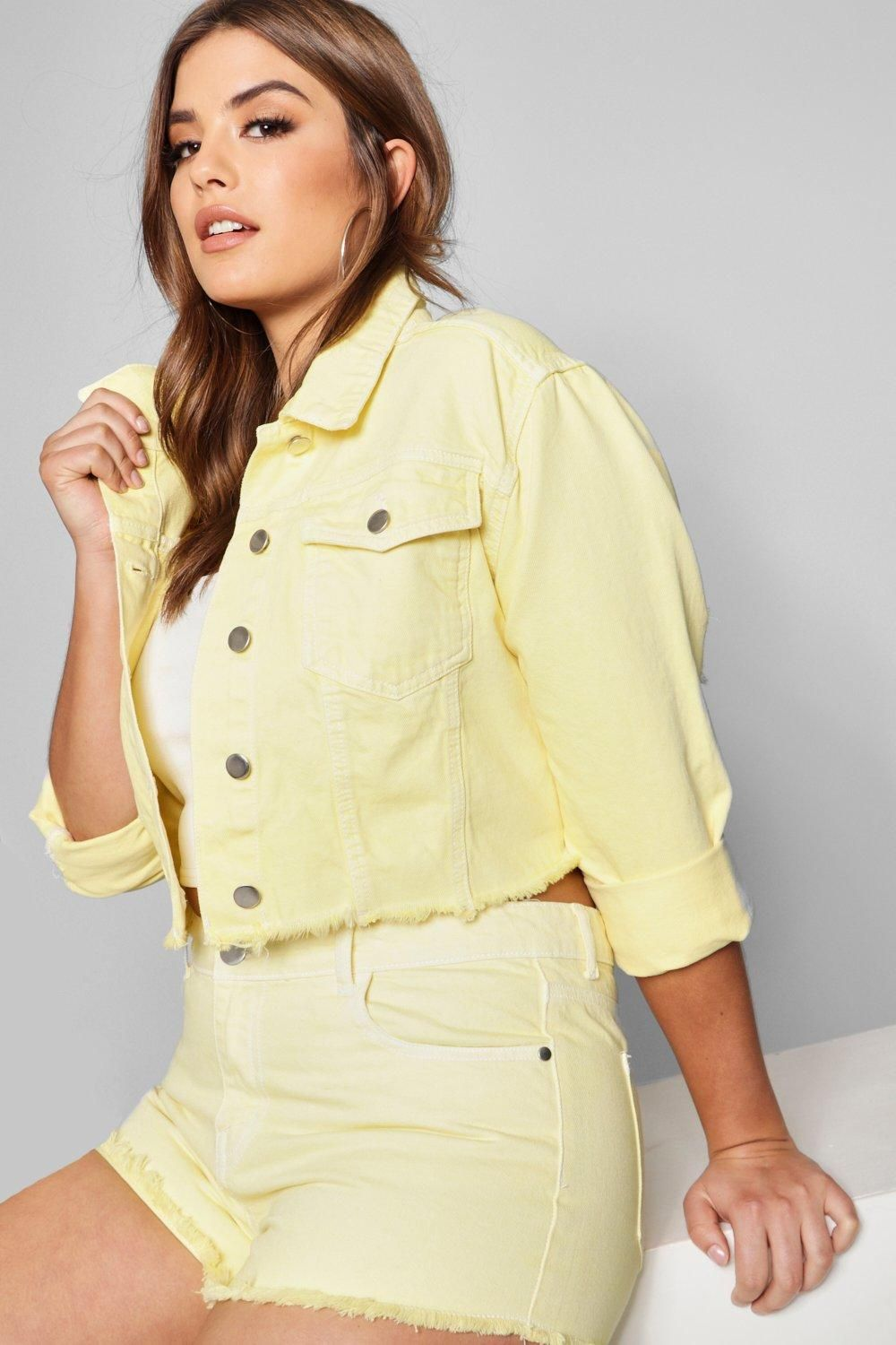 c1d3fd8c8ed Click here to find out about the Zendaya Edit Denim Jacket from Boohoo