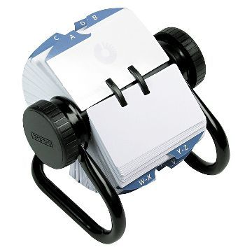 Rolodex Open Rotary Card File Holds 500 2 1 4 X 4 Cards Black Card Files Rolodex Business Card Holders