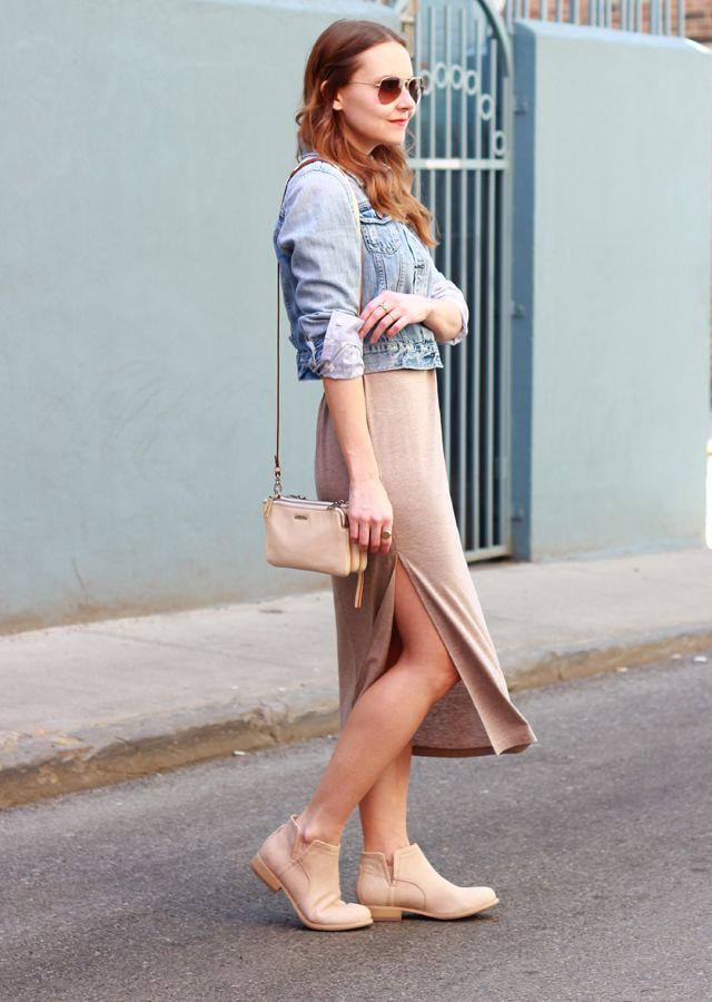 The Steele Maiden: wearing Ruche knit jersey midi dress