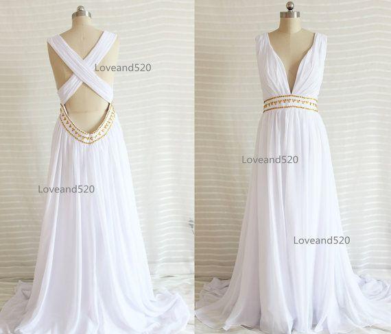 Backless Bridesmaid Dress White Maternity Dresshot Sales Boho