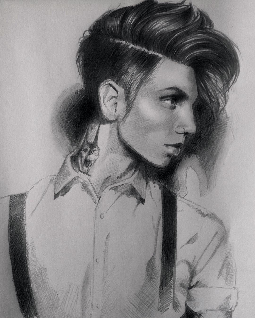 Instagram Photo By Chloe Murphy Apr 18 2016 At 9 34pm Utc Andy Black Andy Biersack Art Sketches