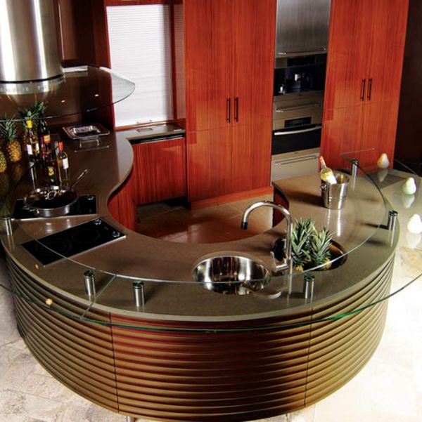 Kitchen Island Round kitchensneff – the intelligent kitchens | minimalisti