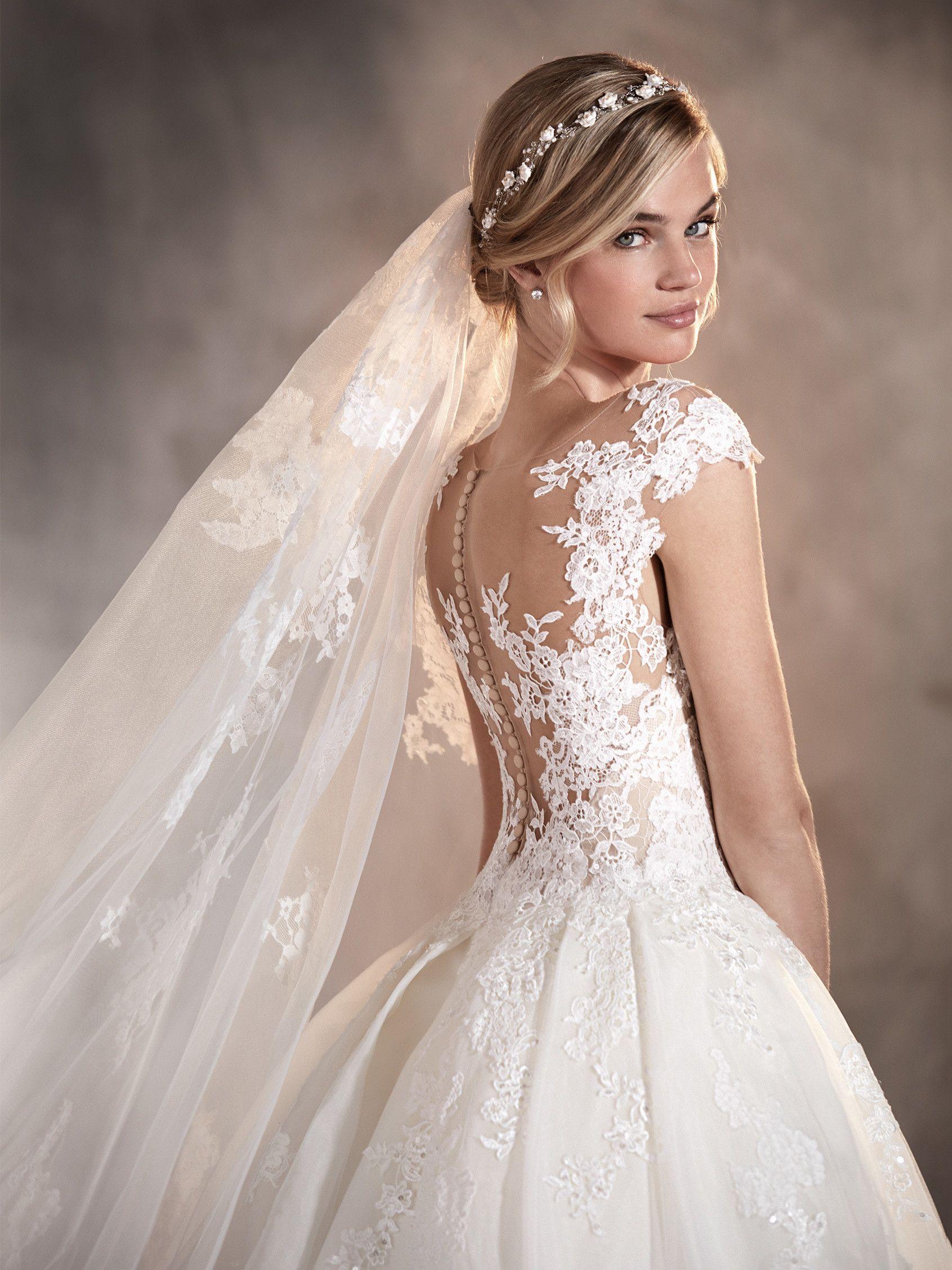 3731fefbde Adela - Vestido de novia en encaje
