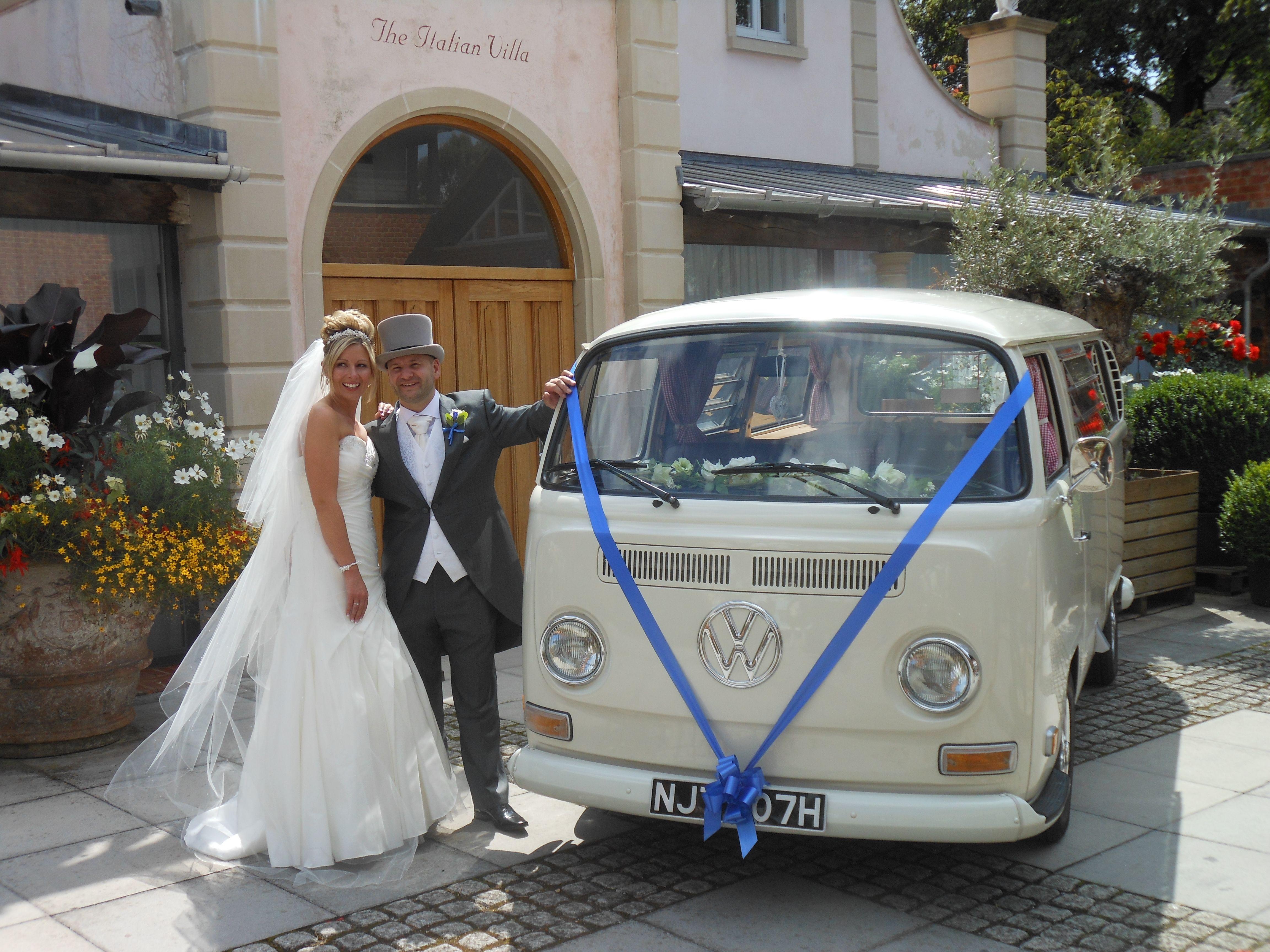 1970 wedding camper van Lottie at a lovely Italian Villa ...