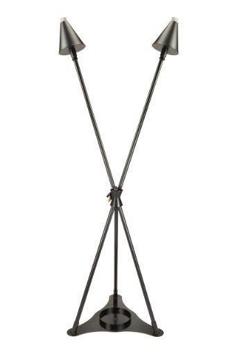 Amazon.com: Burnaby Manufacturing 2 Head Propane Tiki Torch Stand, Black:  Patio, Lawn U0026 Garden
