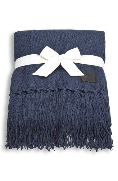Ugg Throw Blanket Prepossessing Navy Blue Ugg Throw Blanket  Gifts For Chilly Days  Pinterest Inspiration