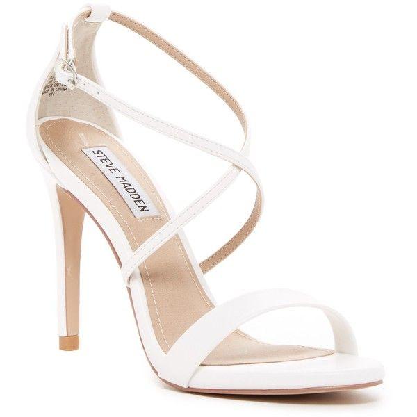 03aa91688cb Steve Madden Floriaa Heel Sandal ($50) ❤ liked on Polyvore ...