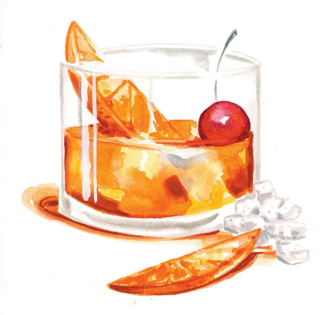 An Old Old Fashioned A City Signature The Old Fashioned Was Purportedly Born Behind The Bar At Louisville S Pendenn Old Fashioned Drink Desserts Drawing Food