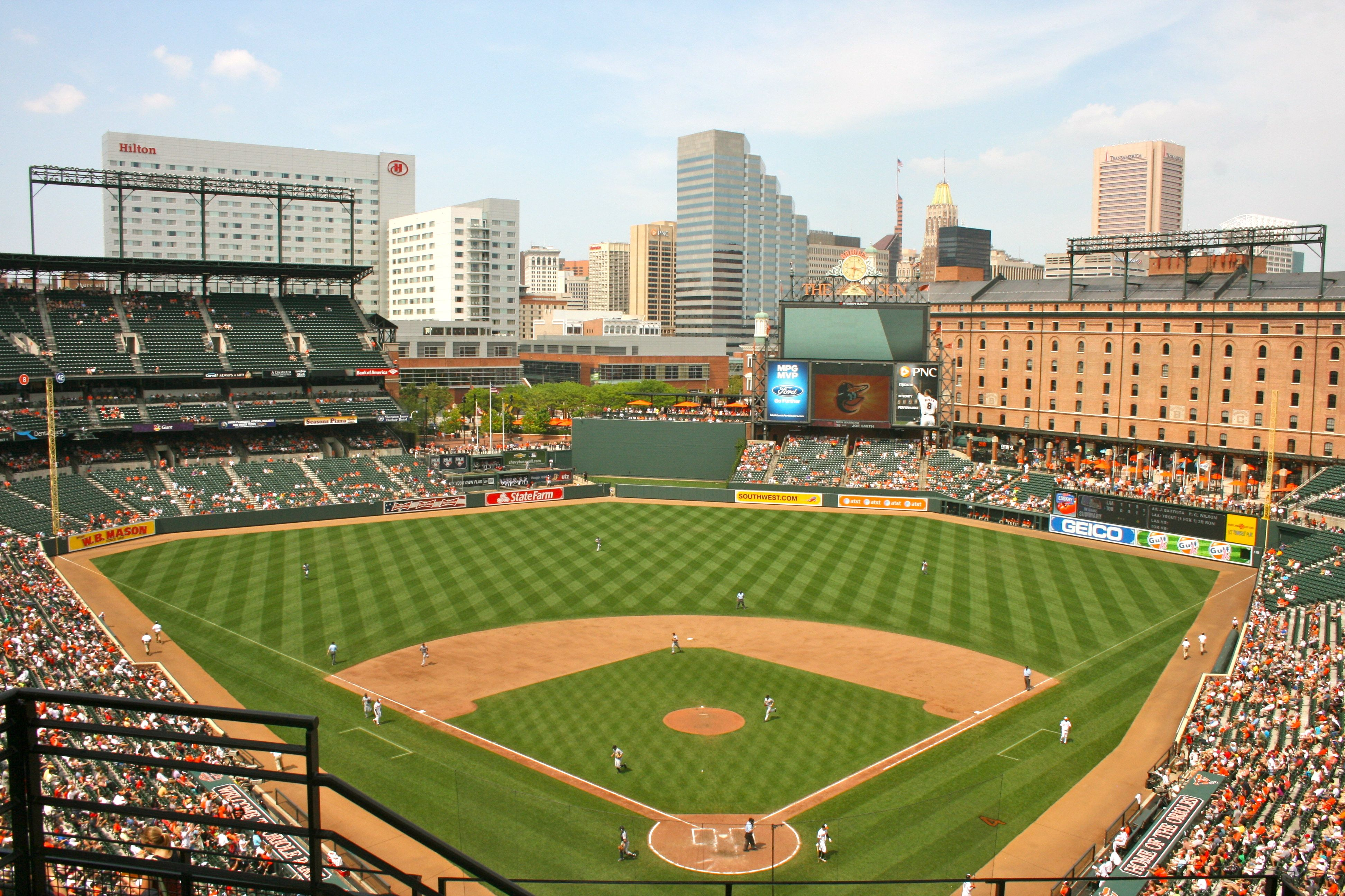 Orioles Camden Yard Baltimore Orioles Stadium Camden Yards Orioles Game
