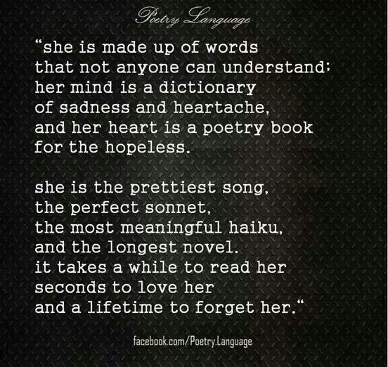 The from poems heart him for love