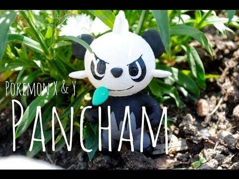 Pokemon X & Y: Pancham Sculpey -ヤンチャム - Polymer Clay - YouTube