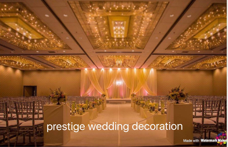 Weddingceremonydecor#aisle#creamandgoldceremonydecor#weddingdrapes#alterdecor#