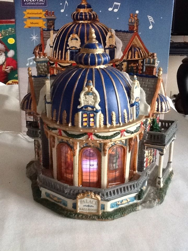 Lemax Carole Towne Christmas Village Building Palace Ballroom ...