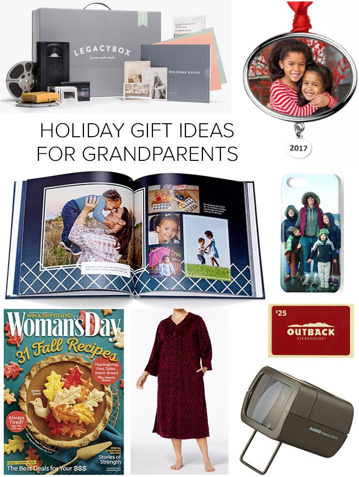 Holiday Gift Ideas For Grandparents Grandparent Gifts