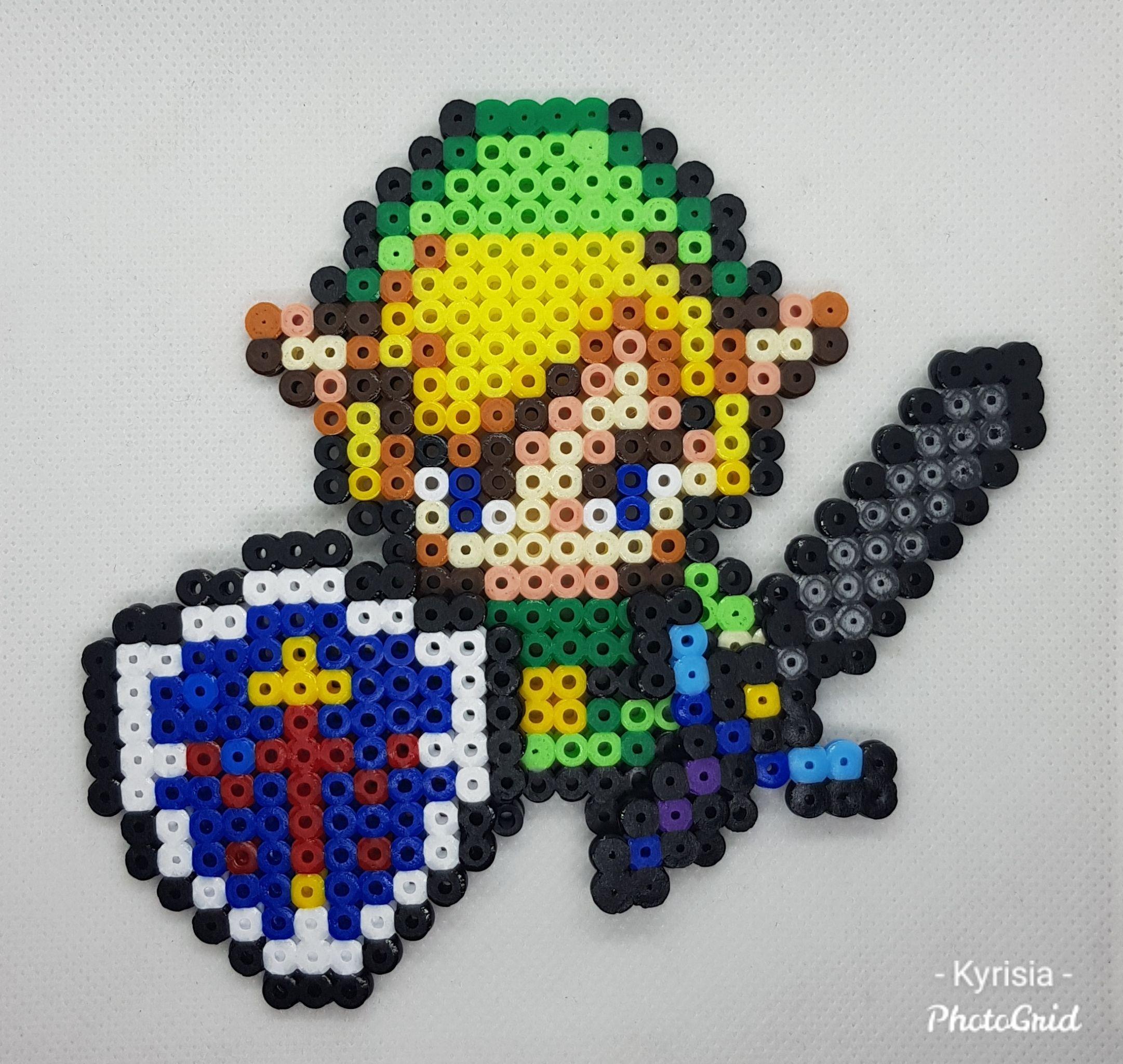Bugelperlen Vorlagen Von Link Von Zelda Zum 15