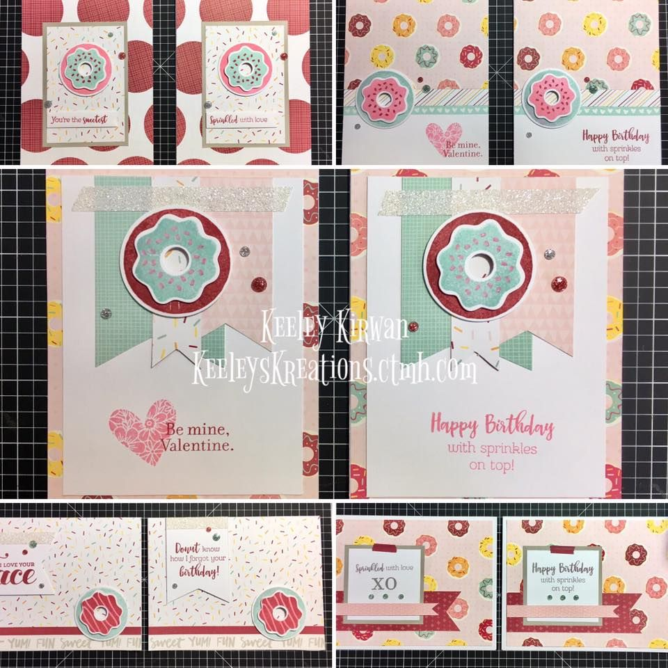 Sugar rush card workshop birthday or valentine theme order your