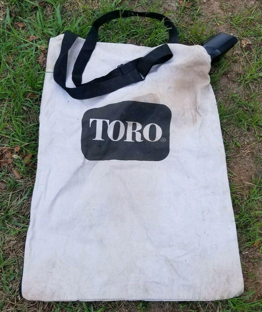 Toro Leaf Blower Vacuum Debris Collection Zippered Bottom Bag 127 7040 108 8994 Toro Bottomzipperbag Zipper Bags Bags Zipper