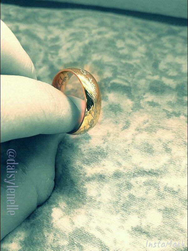 When one finds the One Ring... #lotr #frodo #gandalf #inspiration #jewelry #samwise #books #jrrtolkien #literature