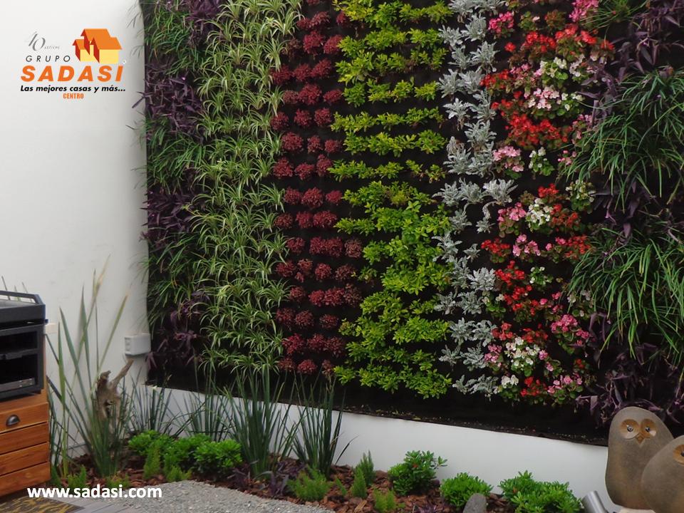Decoracion las mejores casas de m xico los jardines for Muros verdes naturales