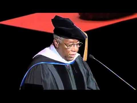Hank Aaron at Marquette University, 2012 : The Best Commencement Speeches, Ever : NPR