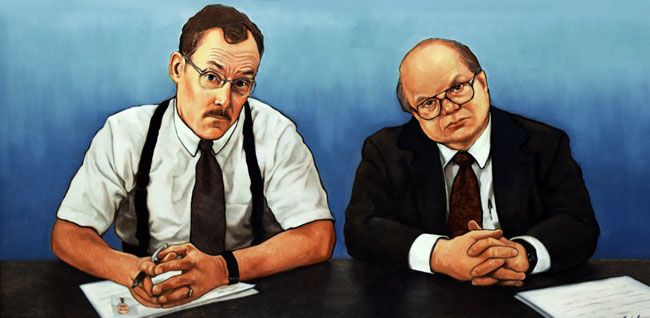 Perfect Artwork · The Bobs | Inspired By The Film Office Space