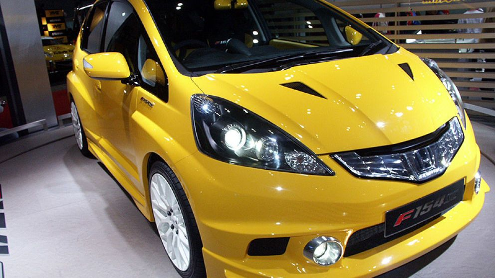 2008 tokyo auto salon honda fit f154sc concept by mugen