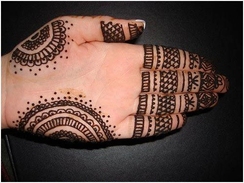 Easy Mehndi Ideas : Easy and simple mehndi designs that you can do by yourself
