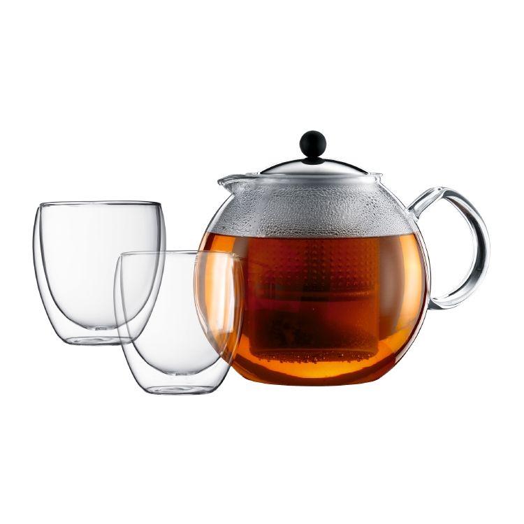 ASSAM SET   Tea press