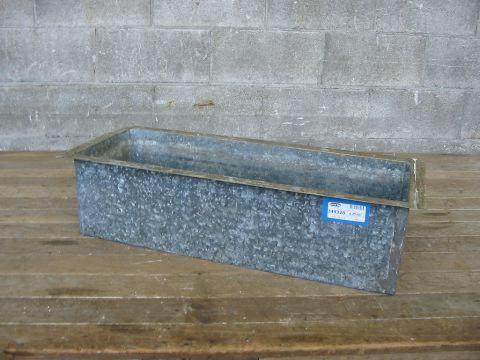 Vintage Galvanized Planter Box Second Use Seattle