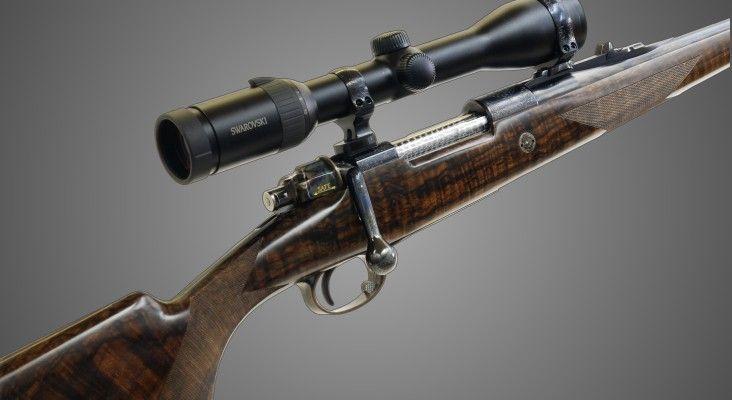 Johann Fanzoj Custom Built Weapons Bolt Action Rifles