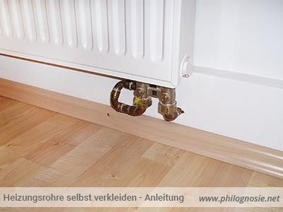 Außergewöhnlich Heizungsrohre selbst verkleiden / isolieren - Anleitung | Home #HY_83