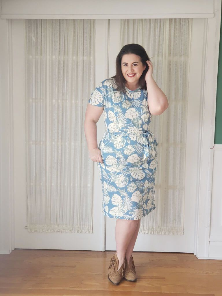 677cceecee4 LuLaRoe Marley - Review - The Marly dress is going to be one of my favorites