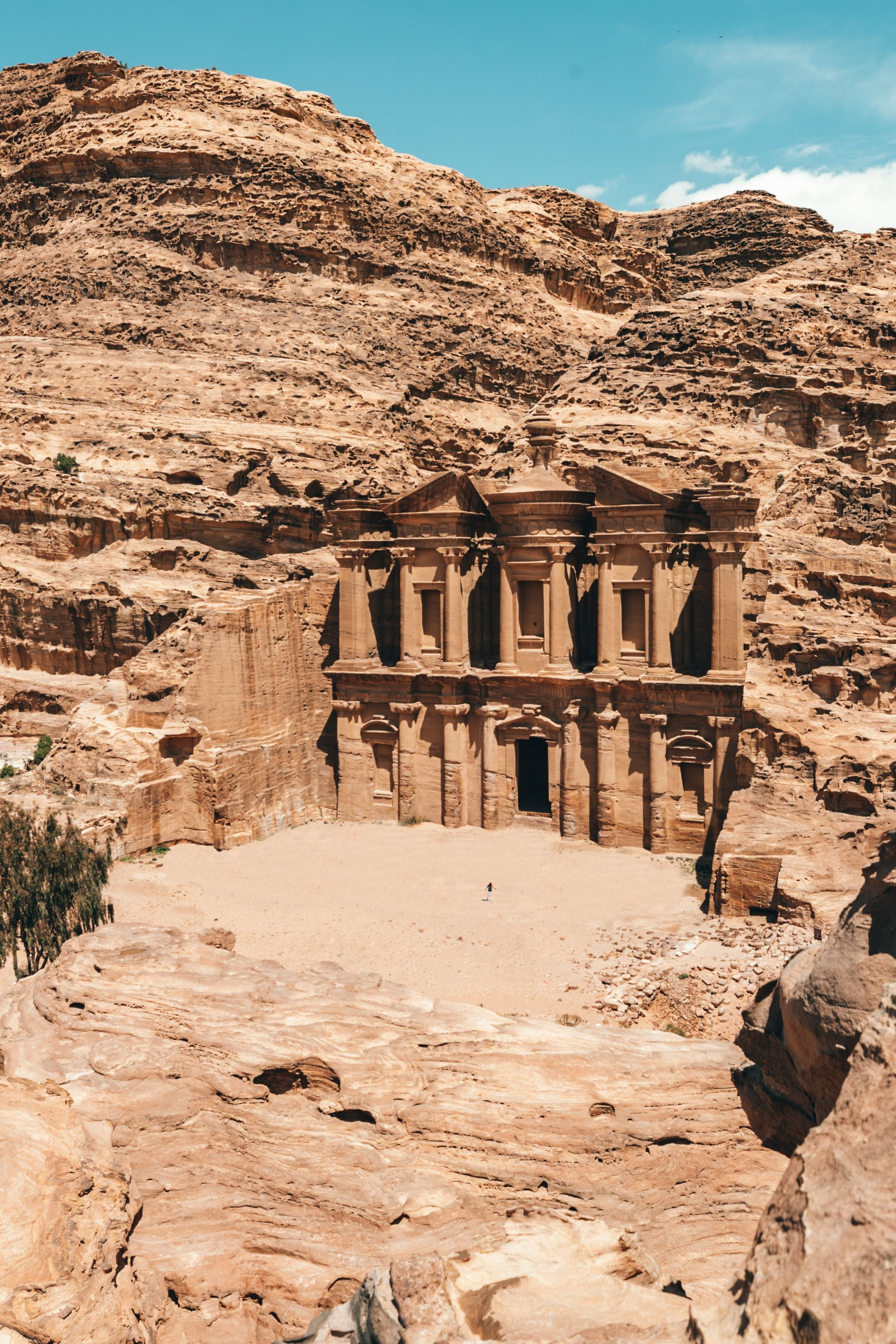 Travel Jordan and Visit historic heritage sites. Petra Temple in Jordan is a must visit destination in Middle East. Tips to travel Jordan, Juresalem Israel and follow route of Indiana Jones adventure. Visit beautiful cities and collect ideas on places to visit, architecture and packing lists, and nature parks before going to Jordan, Petra Temple.