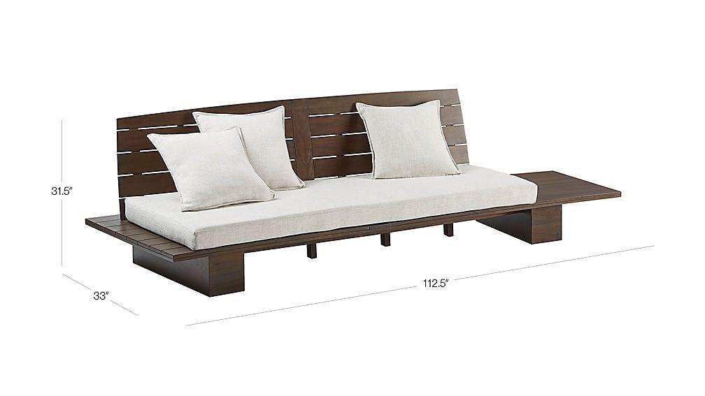 Image With Dimension For Burton Sofa Wood Sofa Sofa Furniture