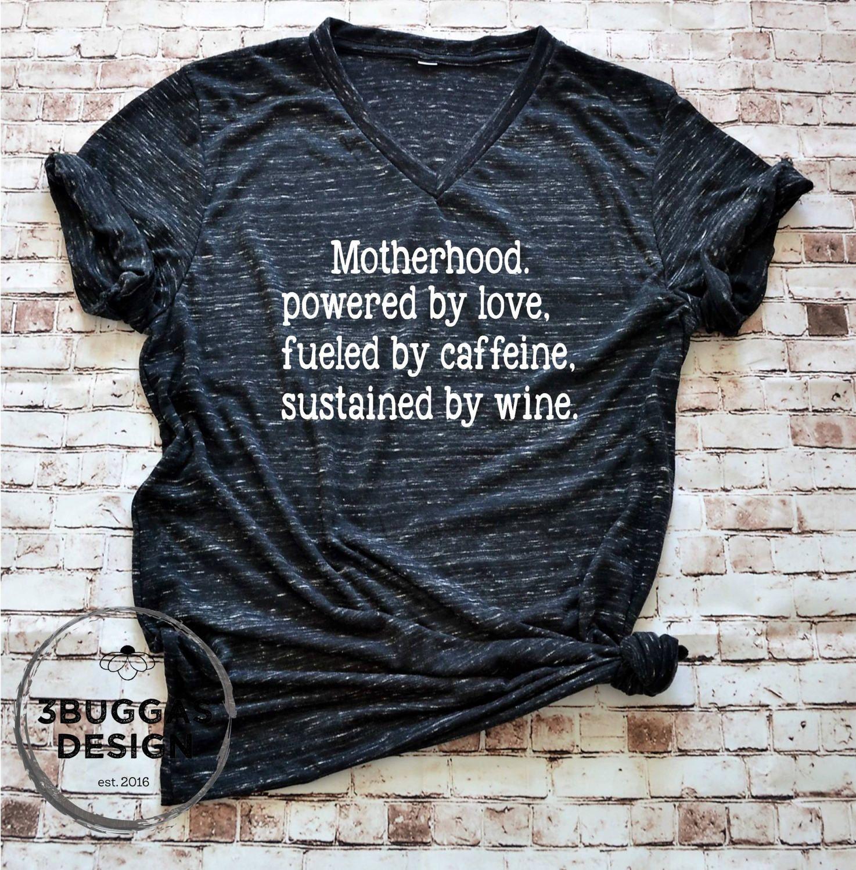New Mom Motherhood T-Shirt, Mom Life Mom Shirt Motherhood, Gifts for Mothers Mom Shirt, New Mom Gift Shirt by 3BuggasDesign on Etsy