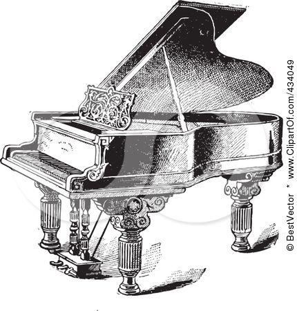 18++ White grand piano clipart ideas in 2021