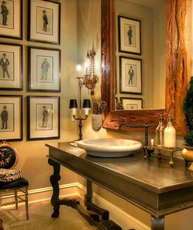 Bathroom English Style Look Home Con Immagini Disegno Bagno