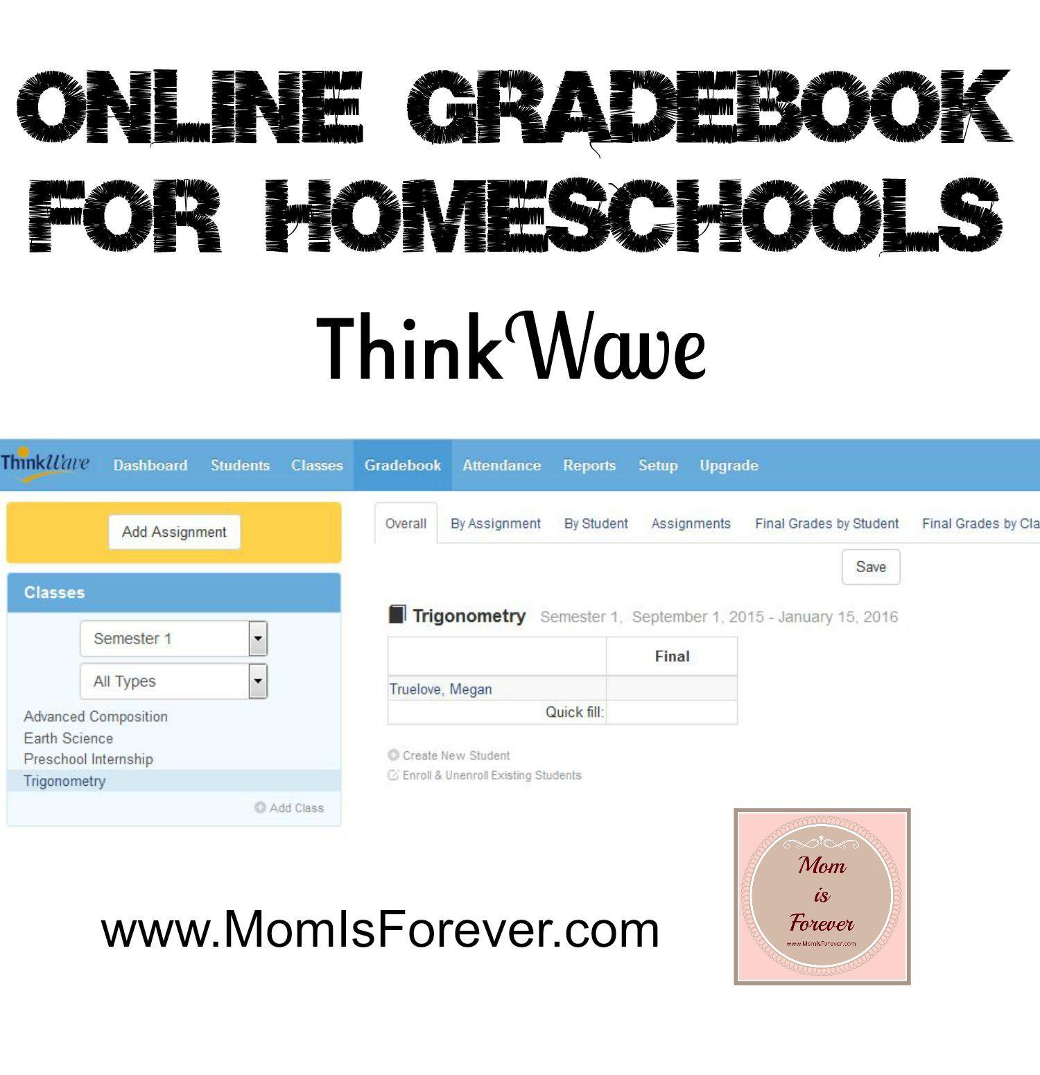 Online Gradebook For Homeschools
