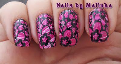 Nails by Malinka: Marble en stempel